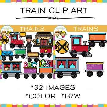 Train Clip Art.