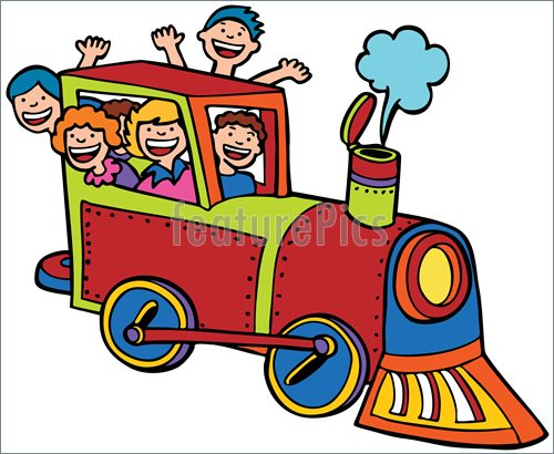 Train Ride Clipart.