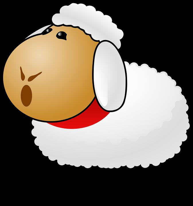 Free vector graphic: Sheep, Livestock, Talking, Shouting.