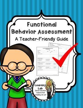 Functional Behavior Assessment (FBA).