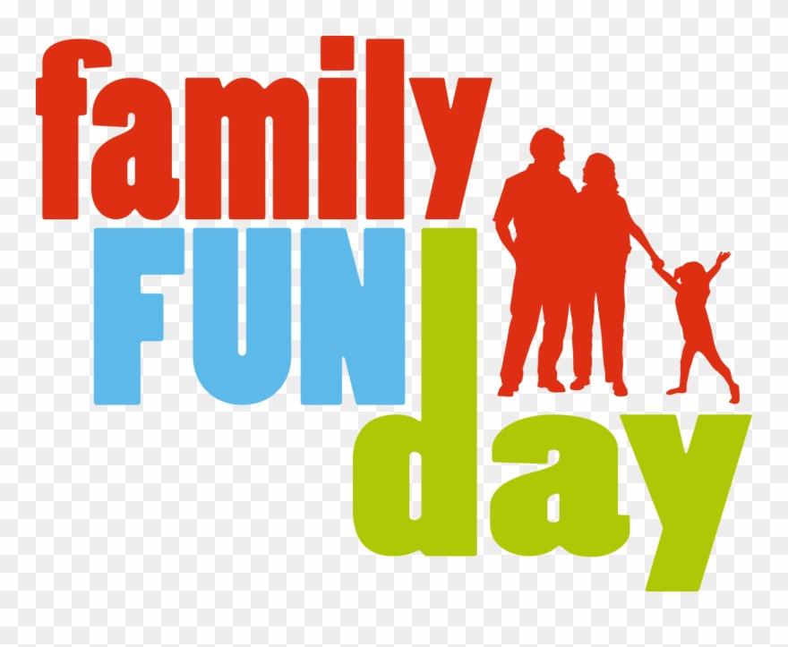Family Fun Day Clip Art.