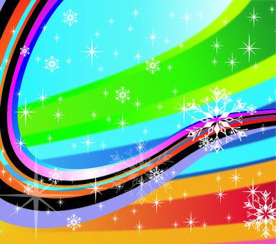 Fundo de férias listrado colorido Clipart Picture.