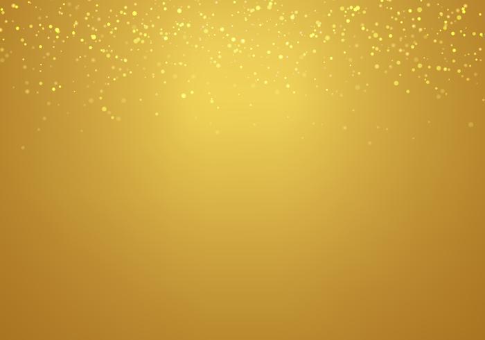 O brilho dourado de queda abstrato ilumina a textura em um.