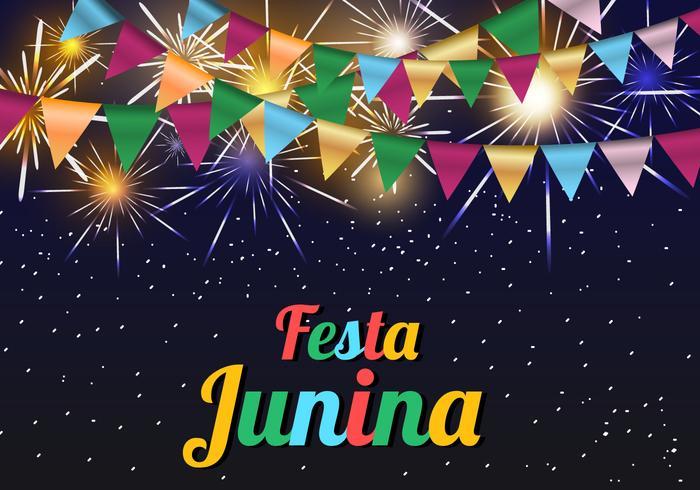 Festa Junina Template Background.