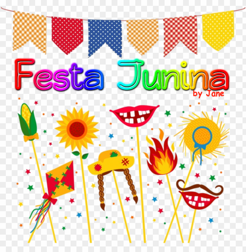 fundo festa junina PNG image with transparent background.