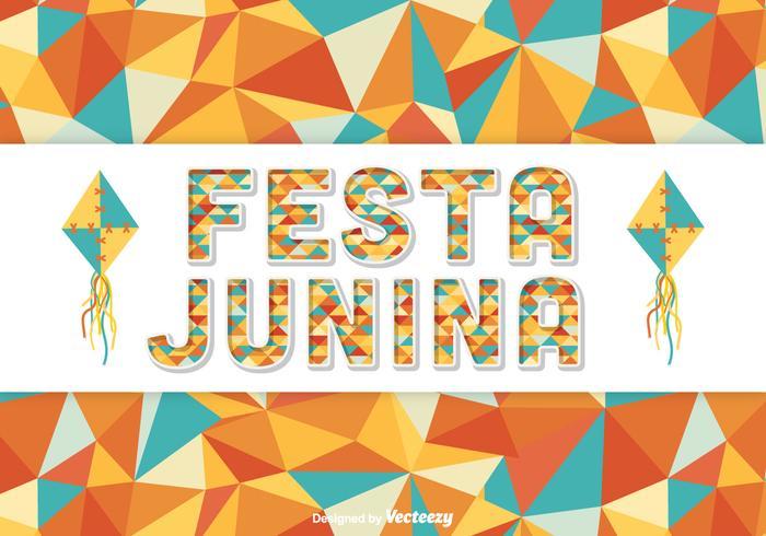 Festa Junina Vector Background.