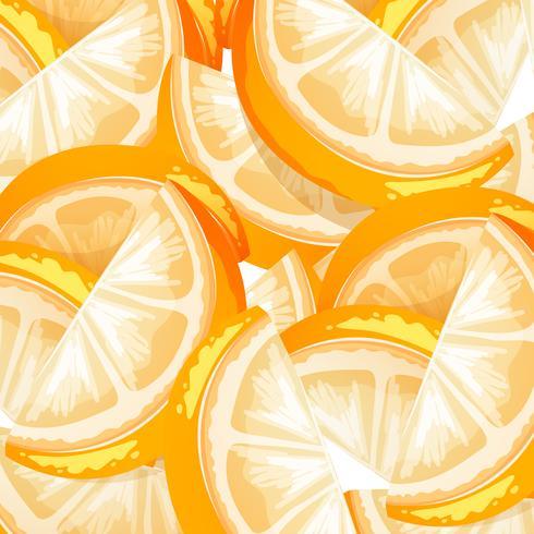 Um fundo de fruta laranja sem emenda.