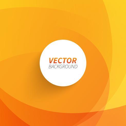 Vetor livre abstrato de fundo laranja.