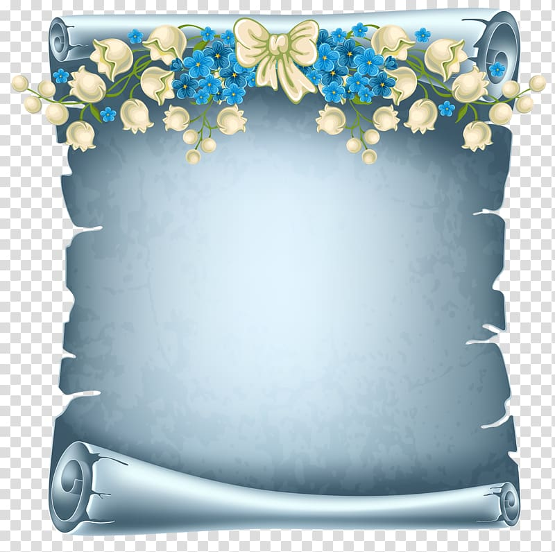 Paper Scroll Parchment , funeral transparent background PNG.