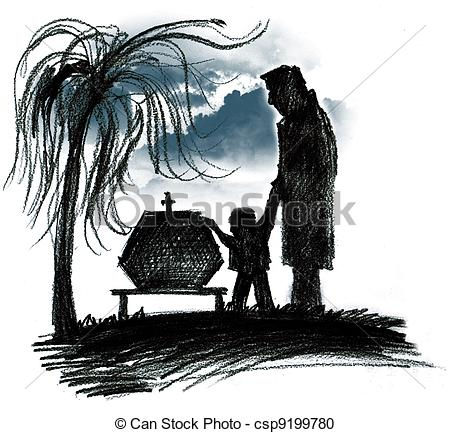 Funeral Illustrations and Clip Art. 3,919 Funeral royalty free.