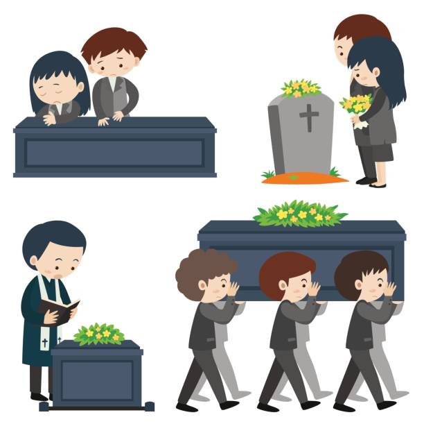 Clipart For Funeral.