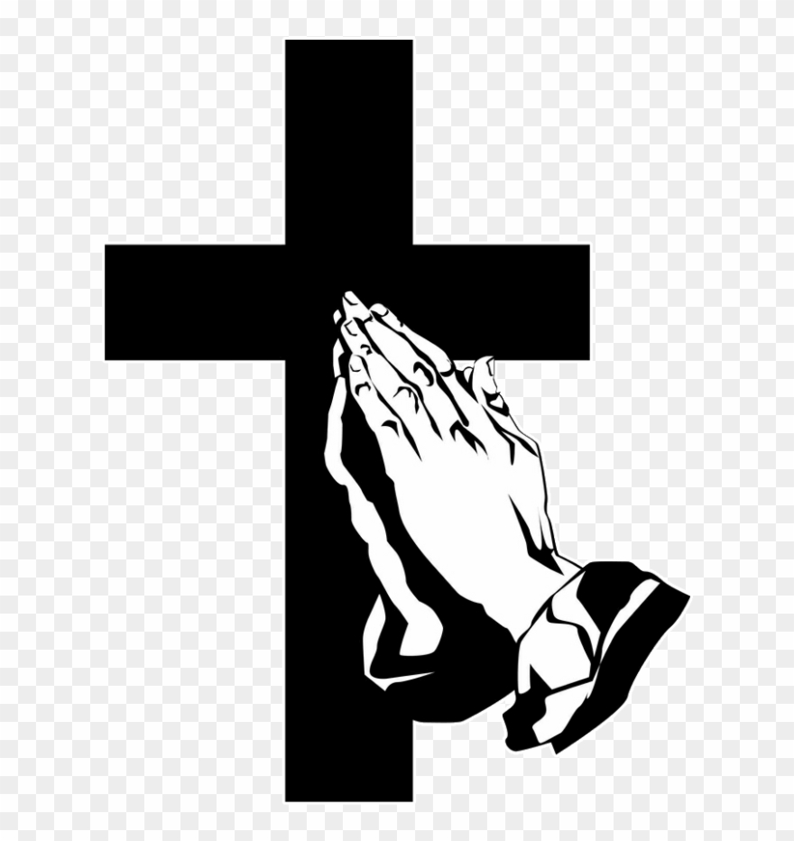 Funeral Clipart Prayer Hand.