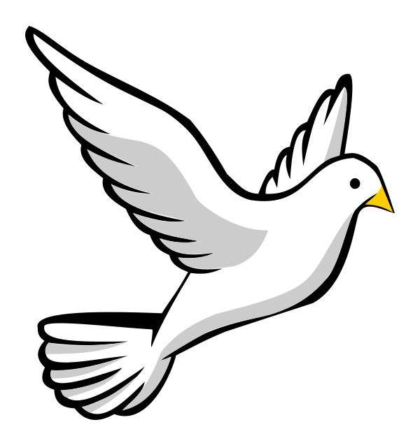 Funeral Doves Clipart.