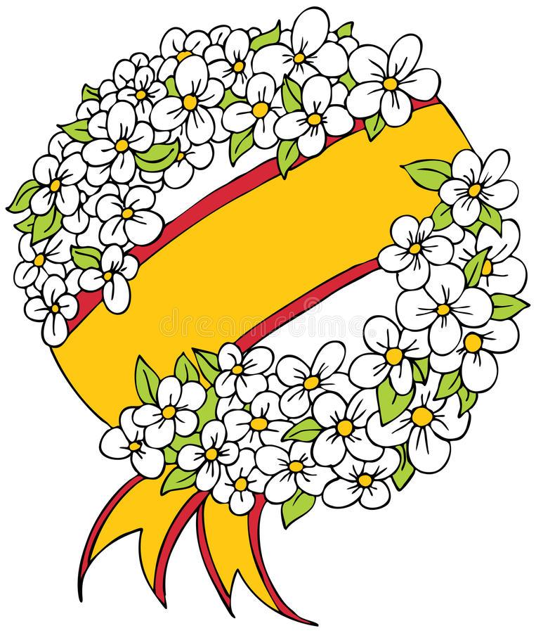 Funeral Wreath Stock Illustrations.