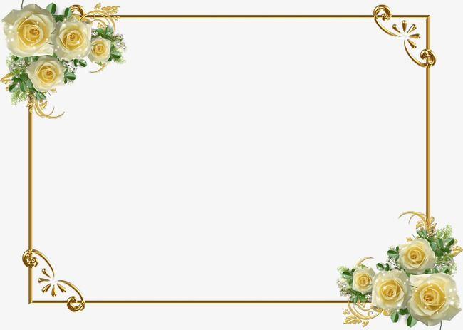Golden Flower Border.