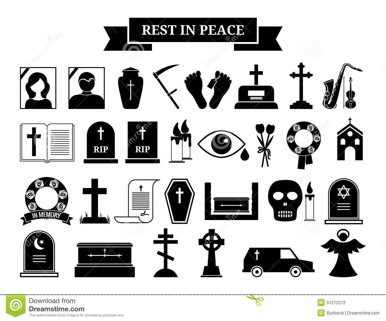 Funeral Home Wreath Clipart.