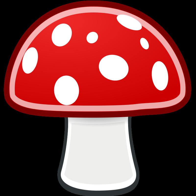 Fungi Clipart.