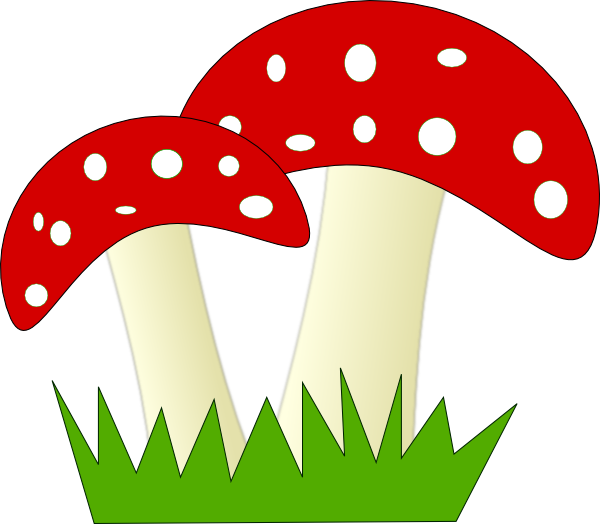 Image Gallery of Fungi Clipart.