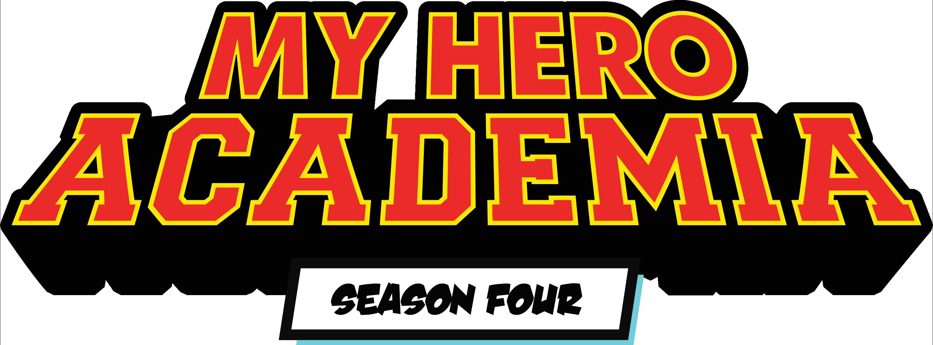 My Hero Academia Season 4 Logo.