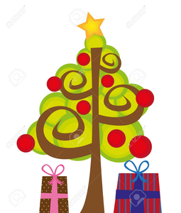 Funky Christmas Clipart.