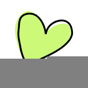 Funky Heart Clipart.