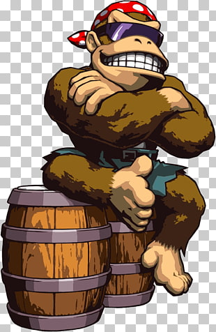 21 funky Kong PNG cliparts for free download.