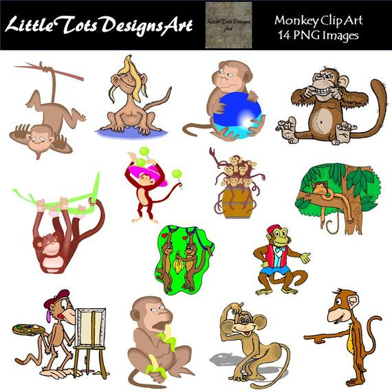 Monkey Clipart Clip Art.