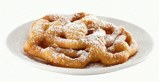 Funnel cake PNG Images.