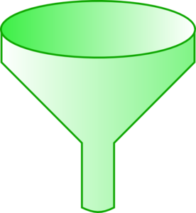 Green Funnel Clip Art at Clker.com.