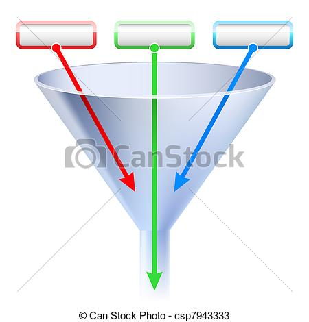 Funnel Illustrations and Clip Art. 3,402 Funnel royalty free.