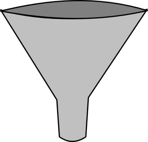 Simple Funnel Clip Art at Clker.com.