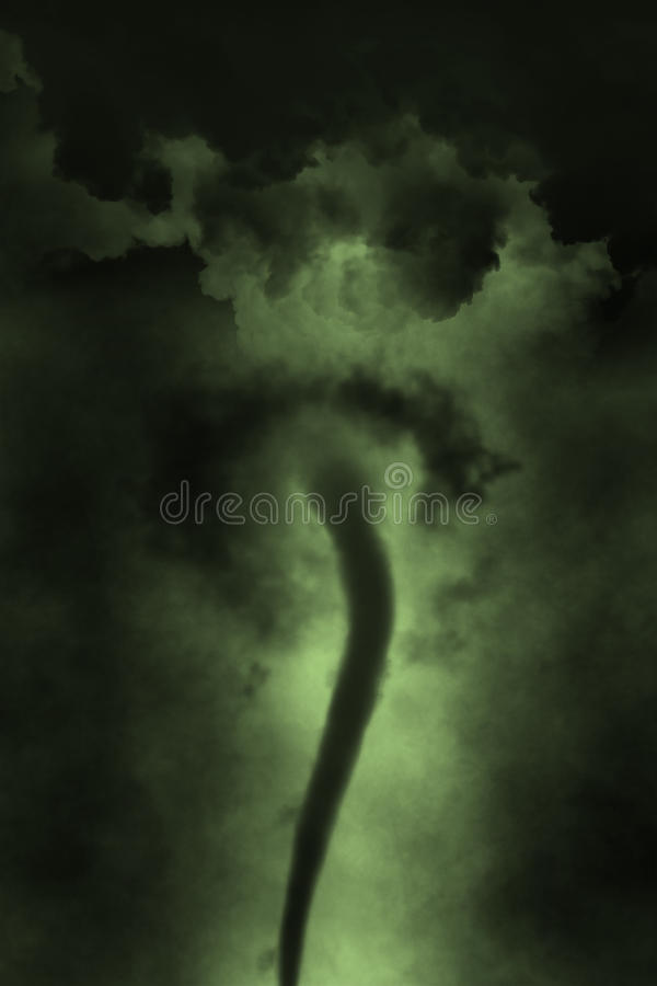 Funnel Cloud Stock Illustrations.