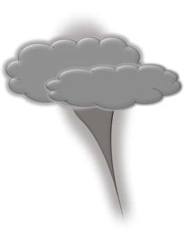 27 clips Weather Clipart: Sun, Clouds, Rainbows, Funnel Cloud, Tornado, Rain.