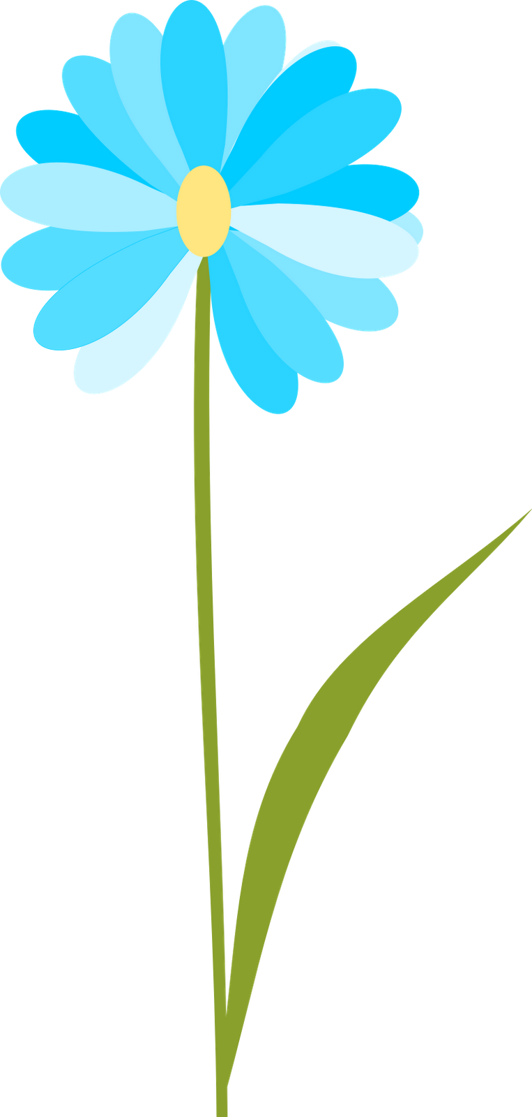 Free flower clipart with transparent background.