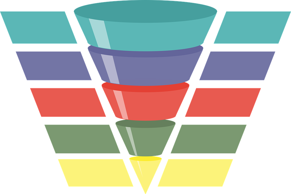 Infographic Funnel Chart.