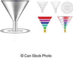 Funnel shaped Vector Clip Art Royalty Free. 535 Funnel shaped.