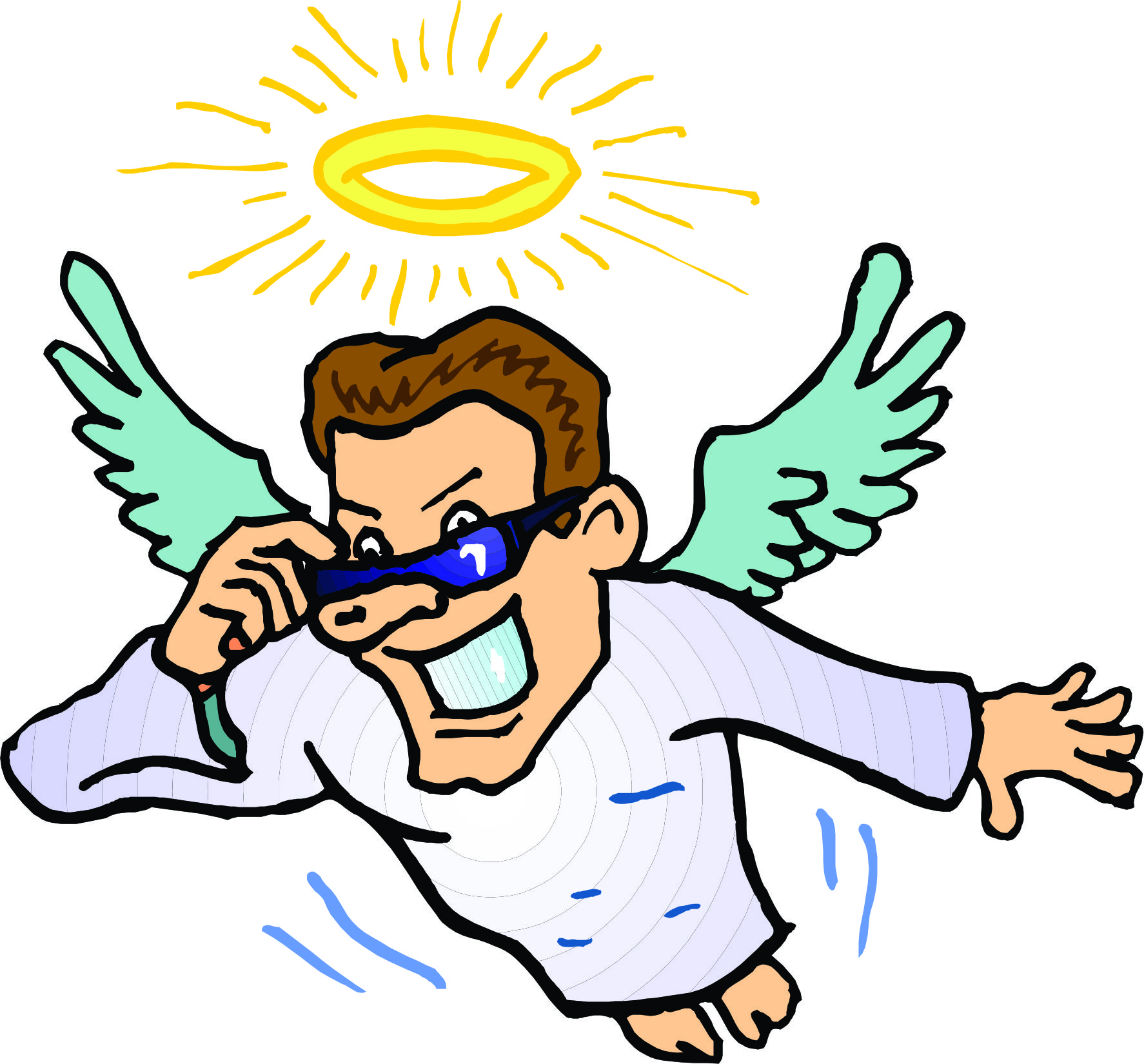 Free Cartoon Angel, Download Free Clip Art, Free Clip Art on Clipart.
