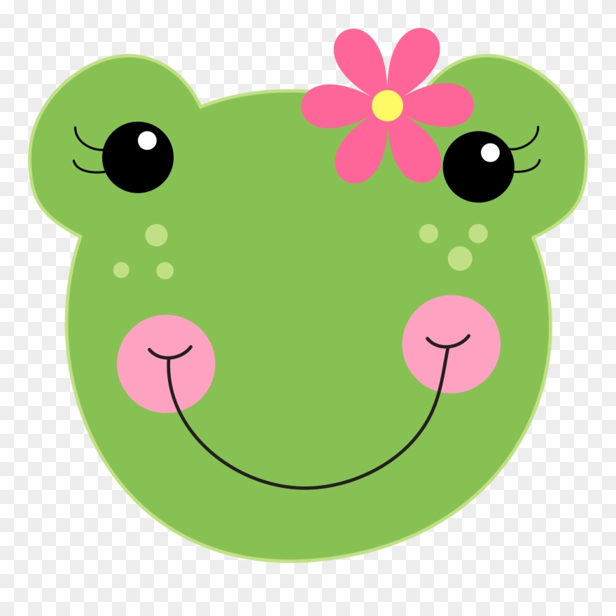 Minus Frog Mask, Cute Frogs, Funny Frogs, Cartoon Trees.