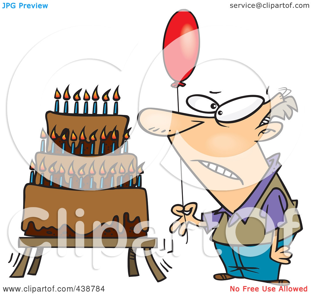 Funny Birthday For Older People Clipart#2046708.