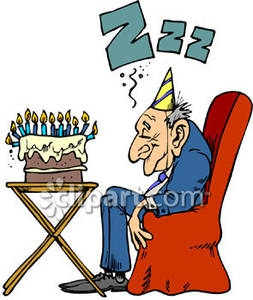 Funny Birthday For Older People Clipart#2046703.