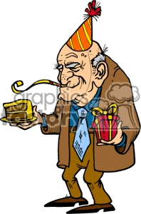 Funny Birthday For Older People Clipart#2046699.