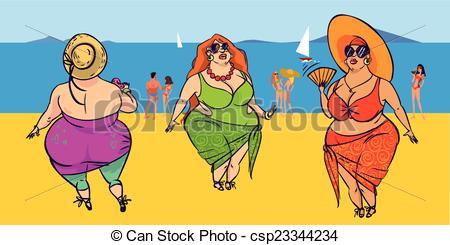 Funny Beach Clipart.
