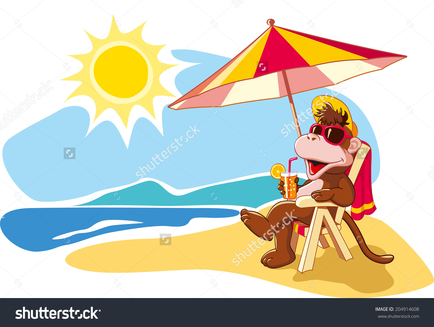 Showing post & media for Beach chair funny cartoon.