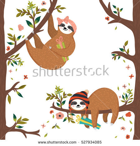 Sloth Stock Images, Royalty.