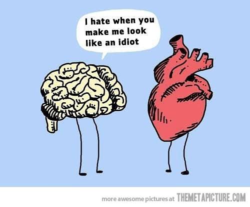 Brain Love Cliparts.