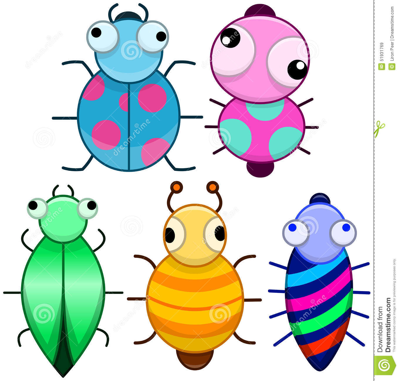 Funny Bug Clipart.