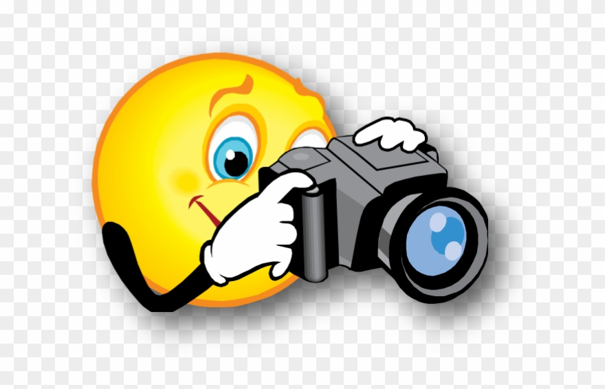 Smiley With Camera Clipart (#2149152).