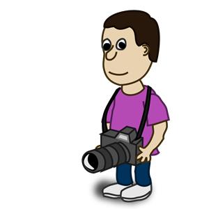 Comic characters: Camera clipart, cliparts of Comic.