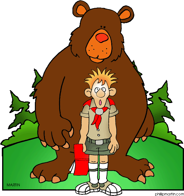 Camping Clipart Wilderness Survival.
