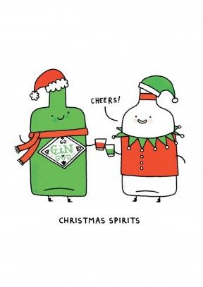 Christmas Spirits.